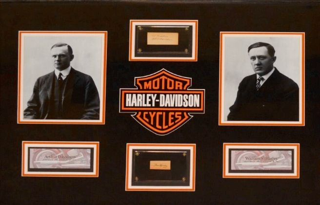 William Harley And Arthur Davidson: 17 Best Images About Historic Harley-Davidson On Pinterest