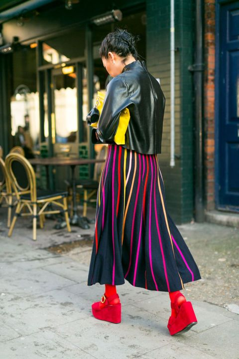 The best outfit ideas to copy from the street style scene at London Fashion Week:
