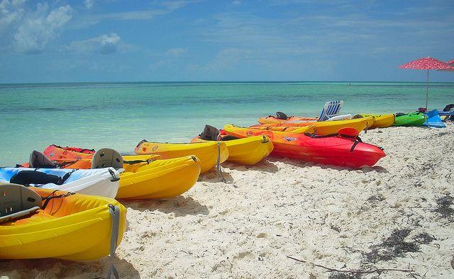 Caribbean's kayaking