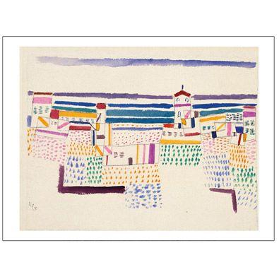 Seaside Resort Paul Klee - unframed print