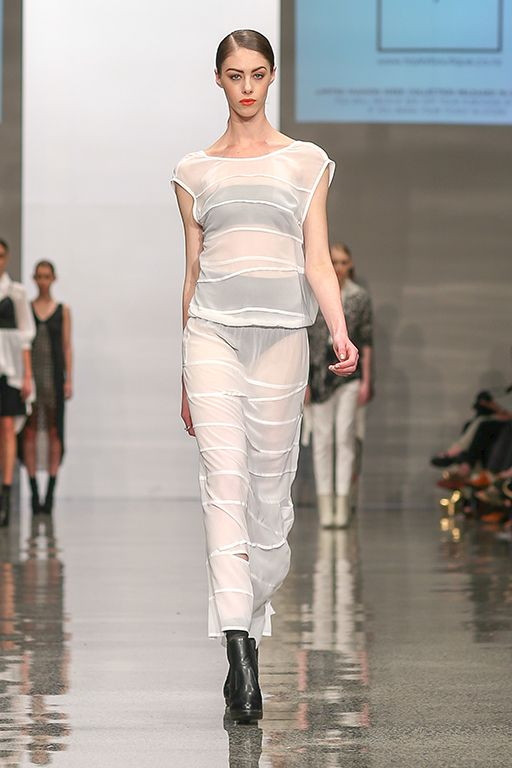 taylor 'Incision' collection at NZFW - Ascend Dress