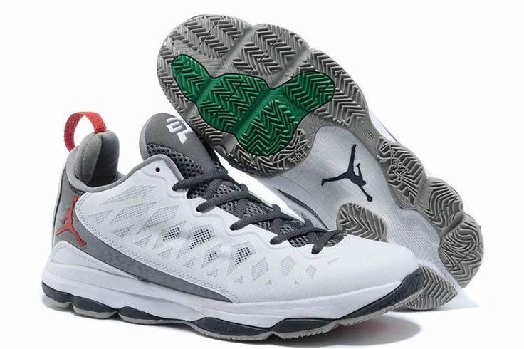 Herre Nike Air Jordan CP3.VI Grå Hvid http://www.dksko.com/nike-sko/nike-air-jordan/herre-nike-air-jordan-cp3-vi-gra-hvid.html