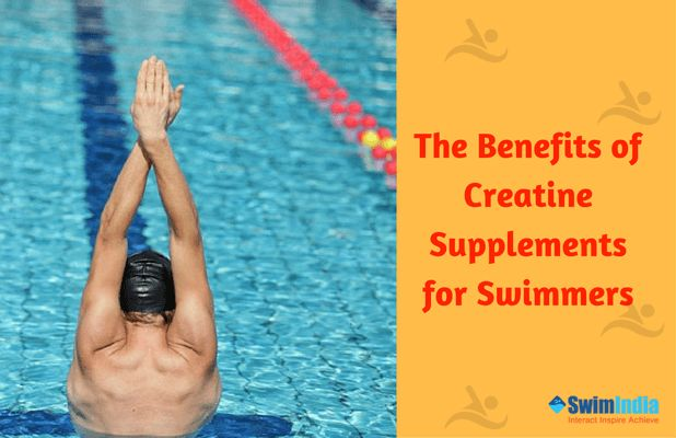 An essential component to improve lean body mass is creatine!  Long distance swimmers can opt creatine supplementation to increase muscle mass and energy availability during intense dry land  #SwimIndia