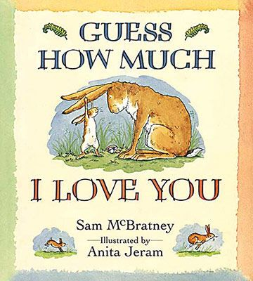 Filled with sweet illustrations, Guess How Much I Love You tells the story of a little bunny trying to express to his parent how big his love is. At every statement, the parent bunny the little bunny with an even greater expression of affection. The charming contest ends in sleep, perfect for a bedtime story.