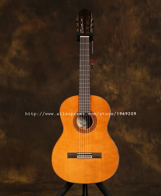 "VENDIMIA 36"" Handmade Spanish <font><b>guitar</b></font>,With SOLID Cedar Top/Rosewood Body Acoustic guitarras, <font><b>classical</b></font> <font><b>guitar</b></font> with Nylon string Price: PKR 51086.28  