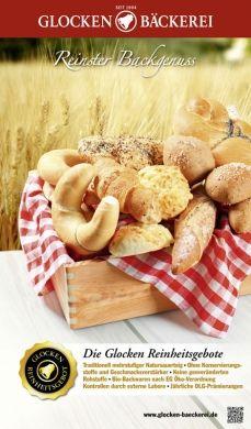 Glocken Bäckerei Poster