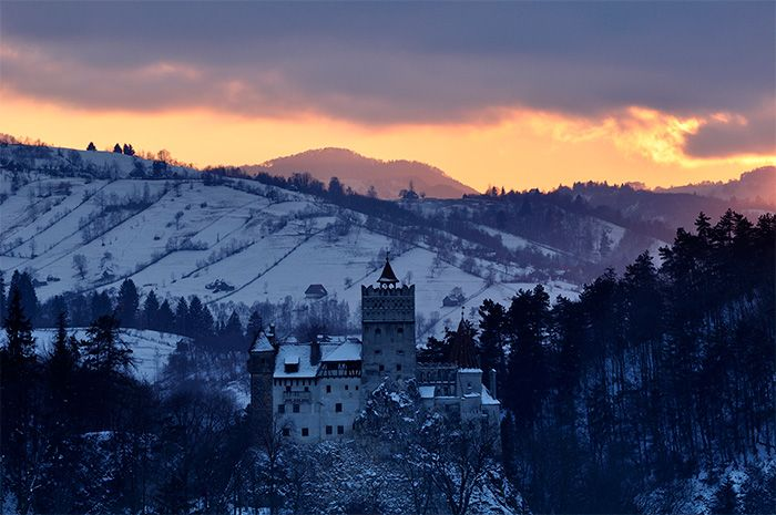 Schloss Bran Dracula Siebenbürgen Transsilvanien Rumänien