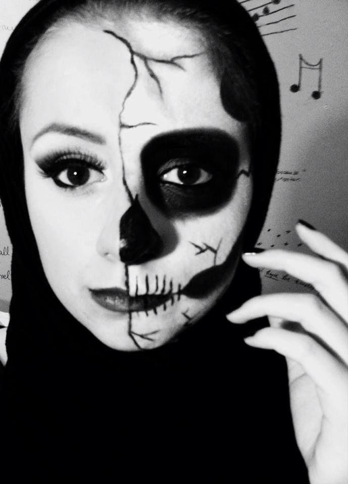 makeup,halloween