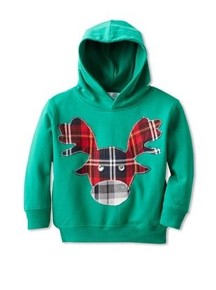 60% OFF Tilly & Jax Boy's Moose Hoodie (Green)