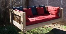 BRAND NEW CEDAR TRADITIONAL DAYBED SWING FULL MATTRESS SIZE SWINGING BED SWINGS $979  FREE SHIPPING