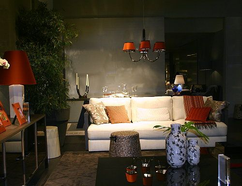 Kenzo Maison Home Collection At Salone Del Mobile, Milan Fair 2012 Prestige  Kenzo Livingroom