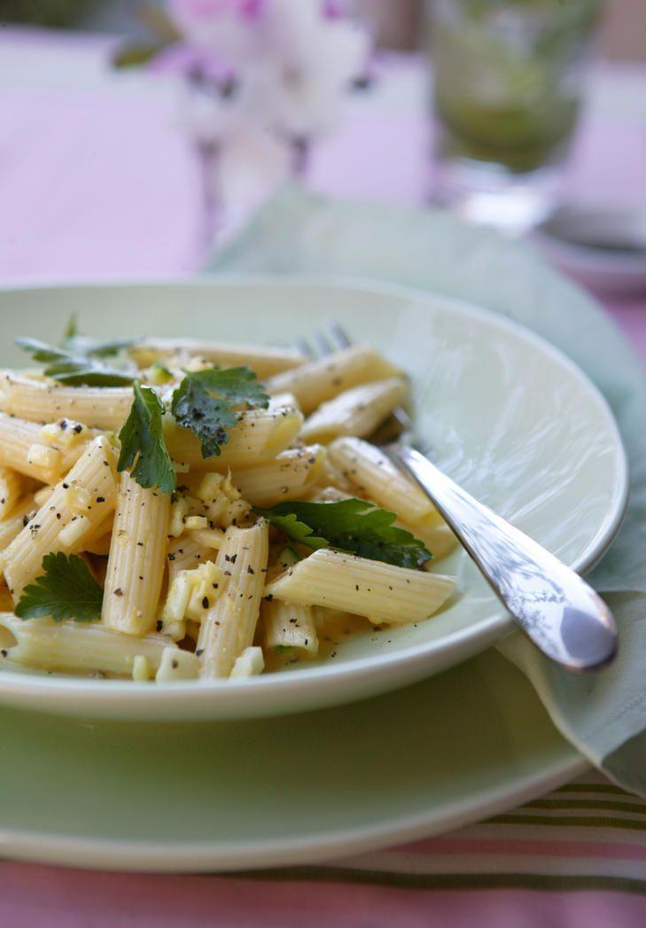 Zucchini Carbonara.