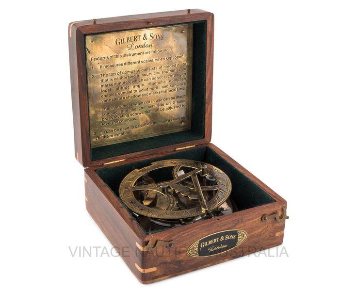 Gilbert & Sons Sundial And Compass