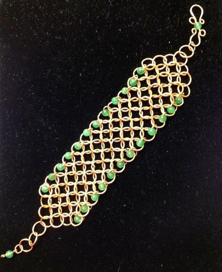 Chain Maille Bracelet | Craftsy