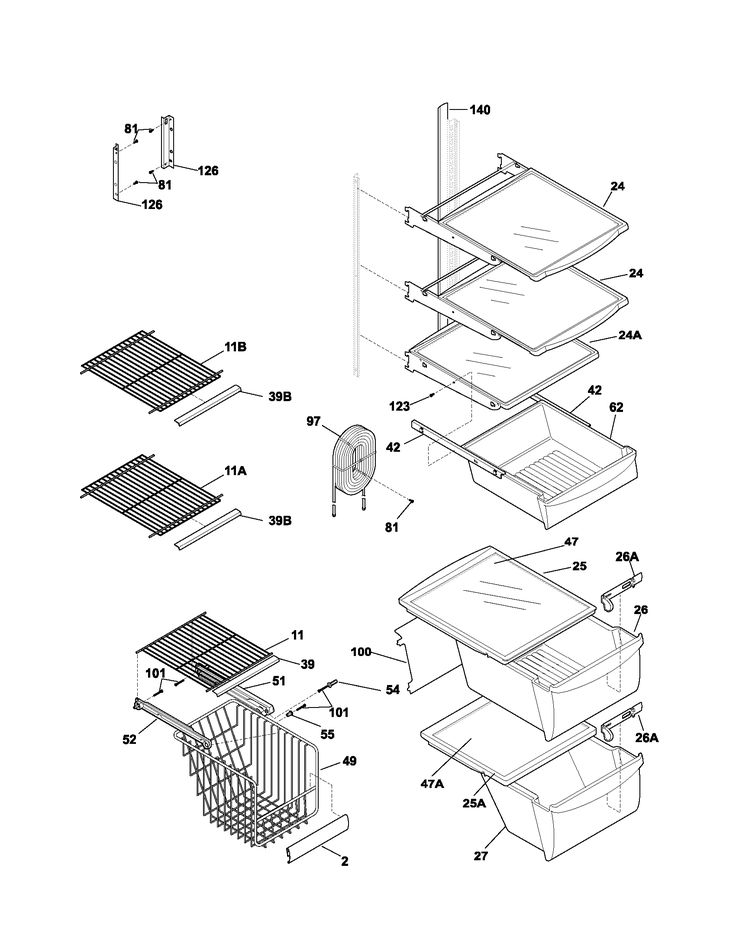 lg refrigerator parts. frigidaire refrigerator parts list 1700 x 2200 · 51 kb png lg