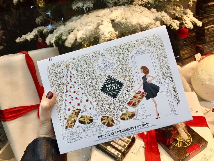 Mardi 20 décembre : On craque complètement pour le coffret « Chocolats Croquants » de Michel Cluizel et son assortiment de mini-tablettes de chocolats noirs, laits ou ivoires sertis de fruits secs et confis ainsi que de mendiants ou pistoles noirs orange et lait caramel.  On parie qu'il sera dévoré bien avant l'ouverture des cadeaux ;)  Boutique Lathéral, 74 Grand Rue à Strasbourg Coffret Chocolats Croquants de Noël Michel Cluizel : à partir de 34€ www.latheral.com