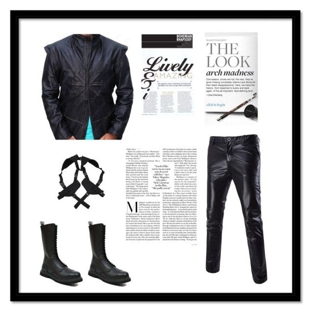 """""""Dracula Untold"""" by moviesjacket ❤ liked on Polyvore featuring Untold, GRINDERS, Smith & Wesson, vintage, men's fashion and menswear"""