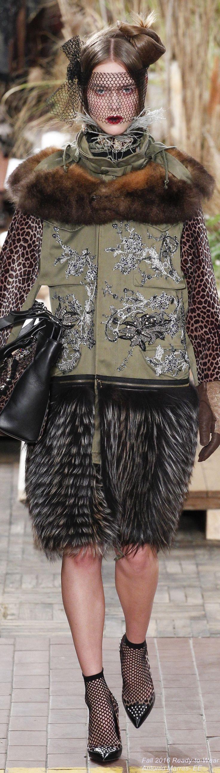Fall 2016 Ready-to-Wear Antonio Marras
