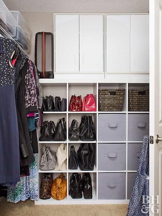 Storage Solutions for Small Bedrooms | Master Bedroom Ideas | Closet ...