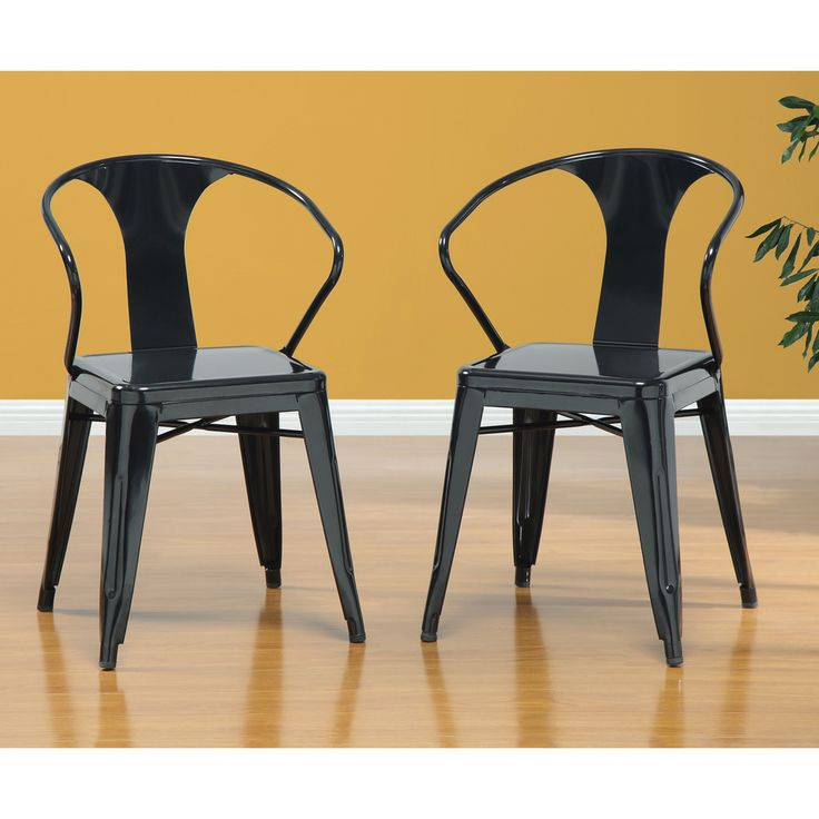 Black Tabouret Stacking Chairs (Set Of 4) | Overstock.com. Stacking  ChairsDining RoomsDining ...
