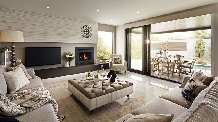 Fireplace and TV placement