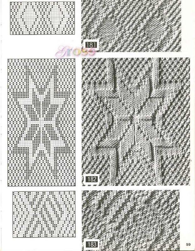 Узоры спицами, knit, knitting - Tatiana Alexeeva - Álbuns da web do Picasa