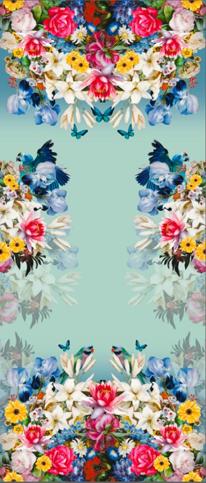 Adriana Barra - Such a bright bright BEAUTIFUL floral print!