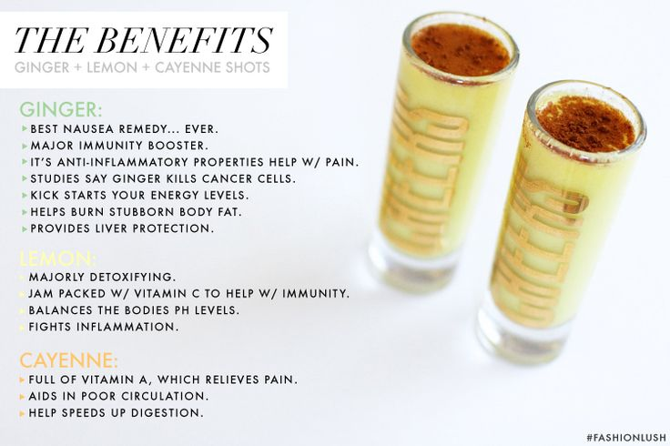 ++ ginger shots // jam packed with some serious health benefits ++
