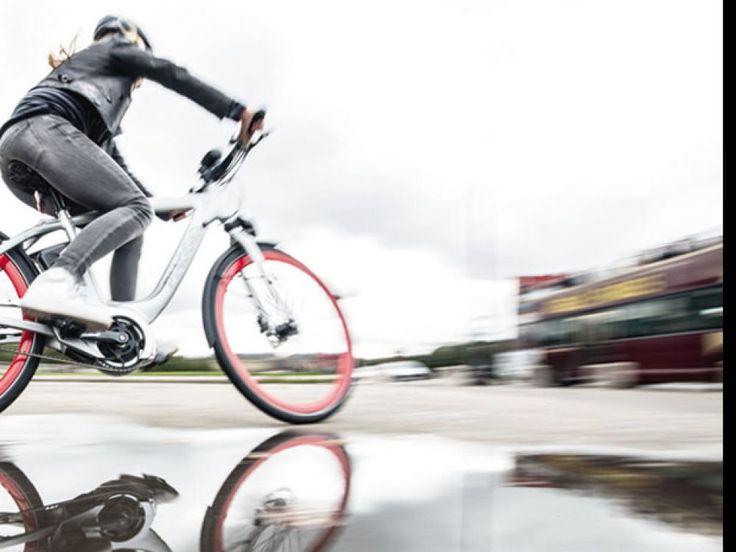 Test d'un vélo à assistance électrique