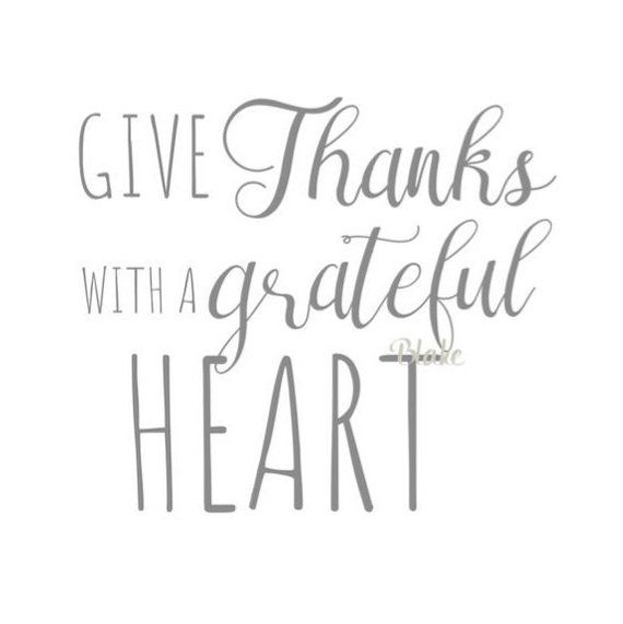 Download Give Thanks with a Grateful Heart svg I love fall svg ...