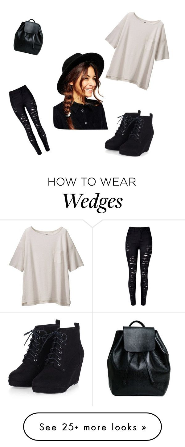 """""""Untitled #143"""" by mystyle1234 on Polyvore featuring moda, Uniqlo, ASOS, women's clothing, women, female, woman, misses y juniors"""
