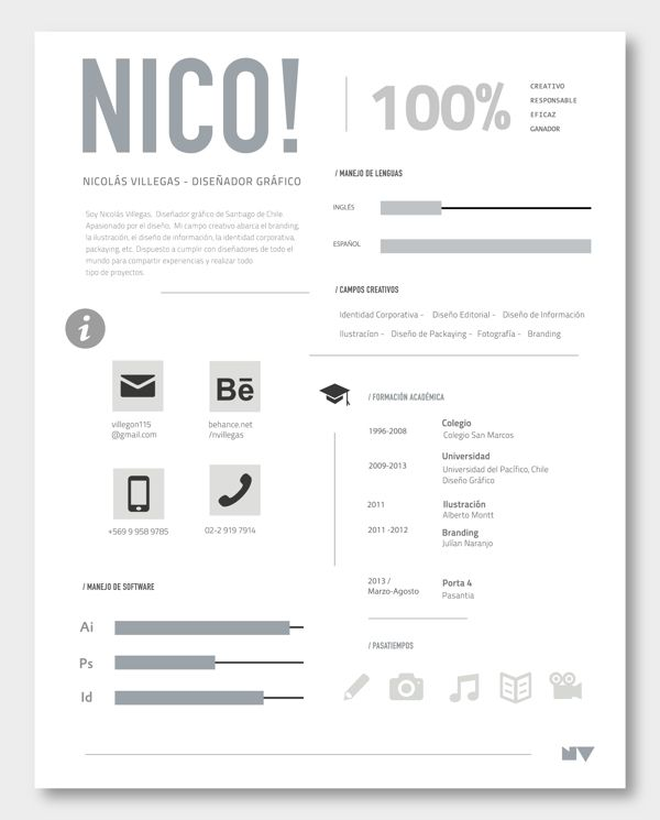 34 best cvs images on Pinterest Cv design, Creative cv and - promotion on resume