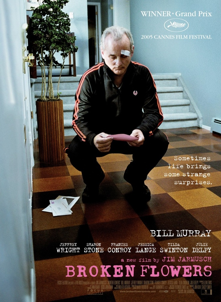 Broken Flowers.   See it just for Sharon Stone's wonderful comic turn.          Nicole Abisinio - Frances Conroy - Julie Delpy - Alexis Dziena - Pell James - Jessica Lange - Bill Murray - Meredith Patterson - Jennifer Rapp - Chloë Sevigny - Heather Simms - Sharon Stone - Tilda Swinton - Jeffrey Wright          #Longwood Elementary School   #William Henry Shaw HS   #The Print Shop