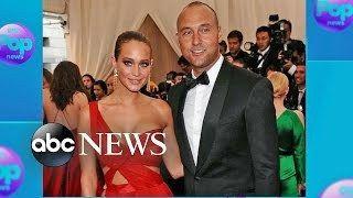 Derek Jeter Marries Long-Time Girlfriend Hannah Davis