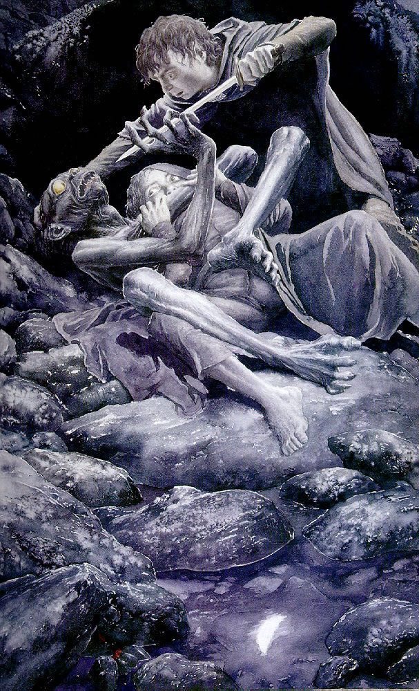 Alan Lee - The Taming of Smeagol