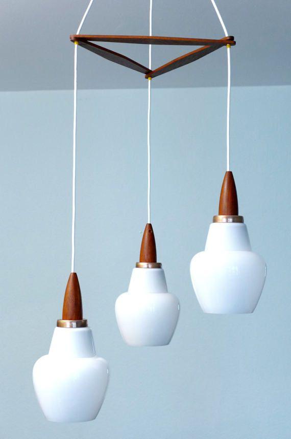 Pendant Lamp Ceiling Light 3 Shades Hanging Lamp