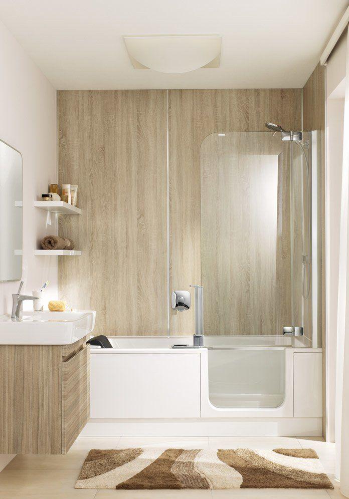 TWINLINE 2 Duschbadewanne mit geteilter Tür | © Artweger ...