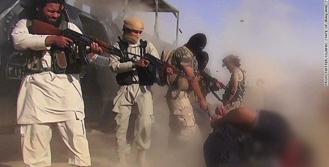 Obama's troop surge in Iraq after the American journalist executions