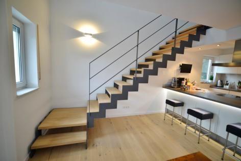 Stahltreppe 10 | Treppenbau Becker