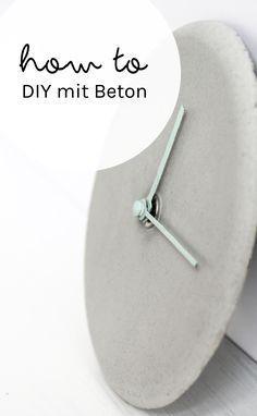 how to: Tipps fürs Basteln mit Beton   schereleimpapier DIY