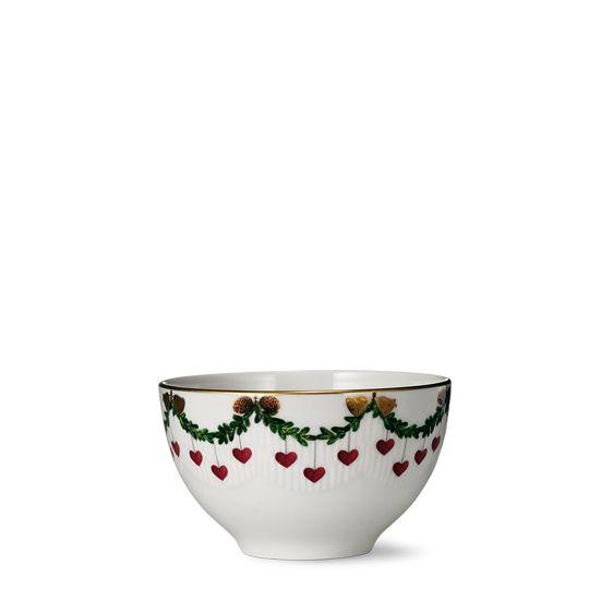 Royal Copenhagen Star Fluted Christmas Bowl 30 cl