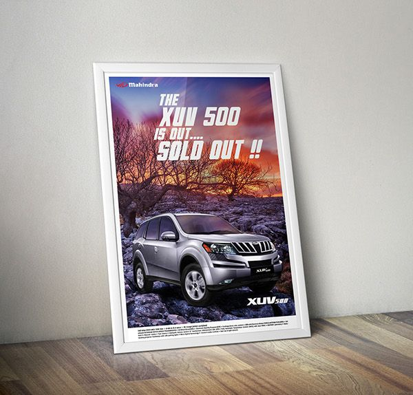 Mahindra XUV 500 Ad Redesign on Behance