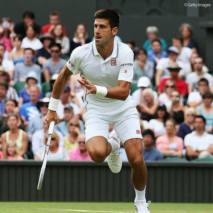 Novak Djokovic Wimbledon winner 2014.