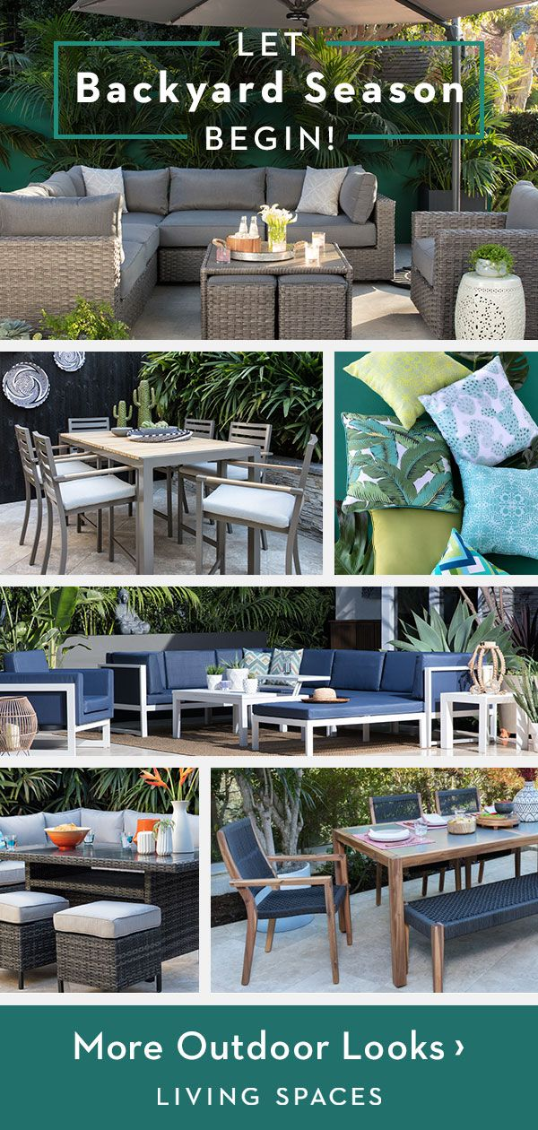 New Outdoor Collections Transform Your Backyard Into An Oasis