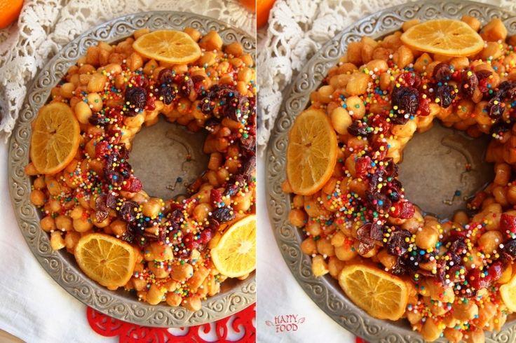 Традиционная рождественская сладость - Струффоли (Struffoli)