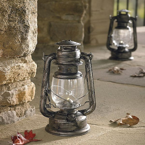 Set of Two Battery Operated Lanterns