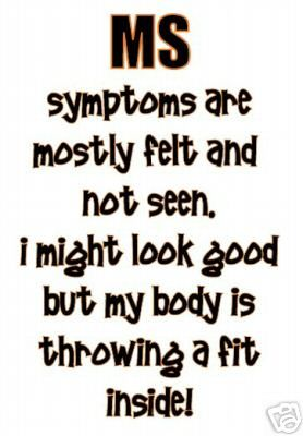 """MULTIPLE SCLEROSIS, MS, T-SHIRT ~ """"THROWING A FIT!!"""""""