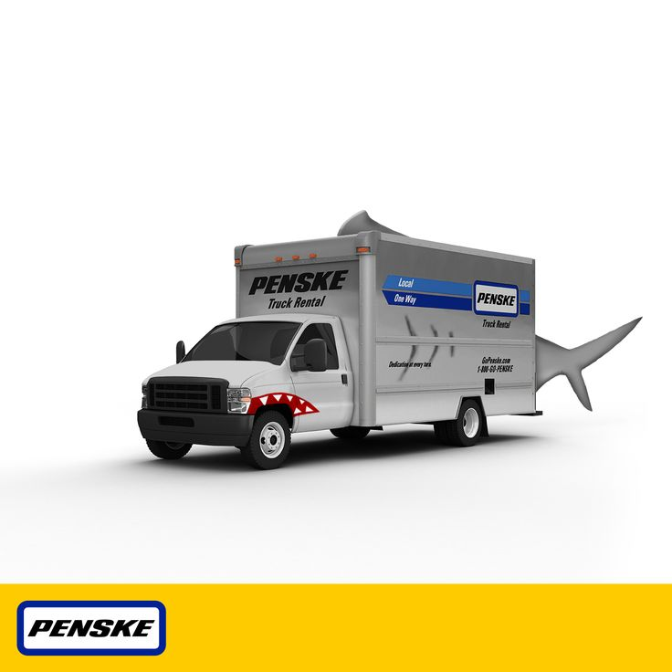 Here's the latest edition of our #Halloween costumed Penske rental trucks! #trucks #trucking #moving #HalloweenTrucks #FinsUp #Halloween2013 #Shark #Sharks #Sharkweek #landshark #costumes