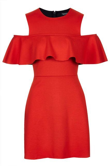 What To Buy From The HUGE Topshop Sale, ASAP #refinery29  http://www.refinery29.com/2015/04/86148/topshop-spring-sale-april-2015#slide-10  Get ruffled up in this red-hot number.
