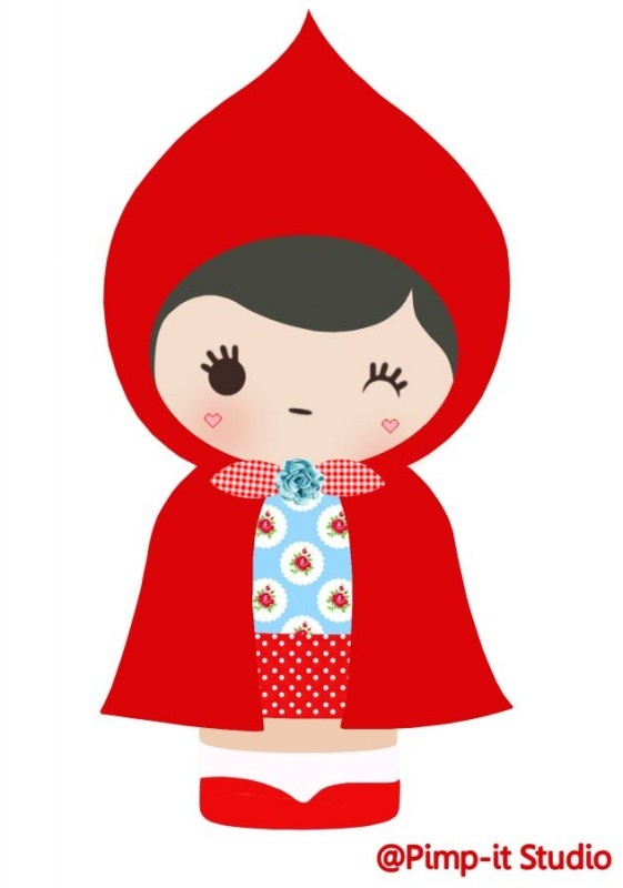 Chapeuzinho vermelho #inspiração